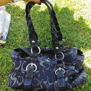 Black Coach handbags
